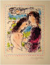 Chagall At the Dawn of Love