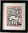 keith haring Fight Aids Worldwide 1990