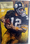 stephen holland original painting oil on board terry bradshaw