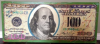 steve kaufman New $100 Bill