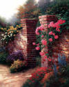 Kinkade The Rose Garden