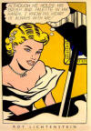 Lichtenstein Girl at Piano