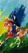 leroy neiman The Equestrienne