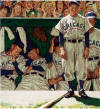 norman rockwell the dugout