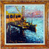 sassone Original Oil on Canvas painting