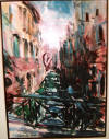 marco sassone original watercolor painting
