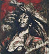 ronnie wood get up stand up red Bob Marley